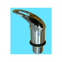 SINGLE LEVEL MIXER BASIN (BELOW MOUNT) SOLID HANDLE