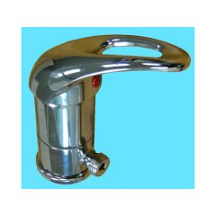 SINGLE LEVEL MIXER BASIN (ABOVE MOUNT) SOLID HANDLE