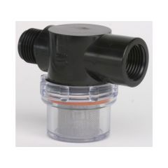 "INLINE PUMP FILTER 1/2"" THREADED"