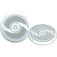 "RV MEDIA WATERPROOF 6"" 200W SPEAKERS - WHITE"