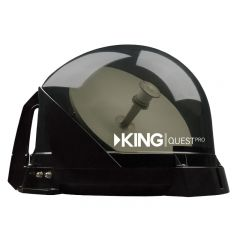 KING QUEST PRO FULLY AUTOMATIC SATELLITE ANTENNA WITH FIXED/PORTABLE APPLICATION